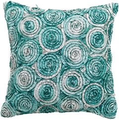 Diy Outdoor Chair Cushion Covers Of Dnc Avarada Triple Colour Floral Bouquet Throw Pillow Cover Decorative Sofa Couch ...