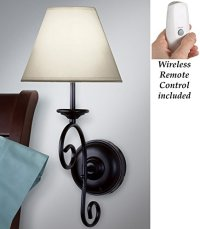 Led Remote Control Vintage Wall Sconce Light