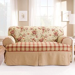 3 Piece Sofa Slipcover T Cushion Sectional Slipcovers Walmart Tips For Fitting On Sofas With Loose Cushions ...