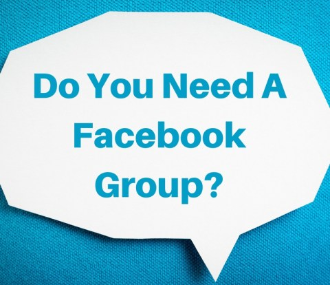 do you need a facebook group
