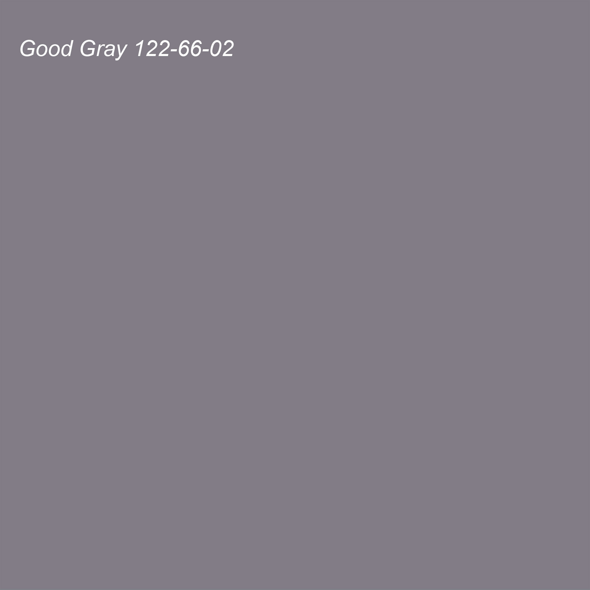 Coloro 2021 Color of the Year Suggested Accent Shade Good Gray (grey) 122-66-02