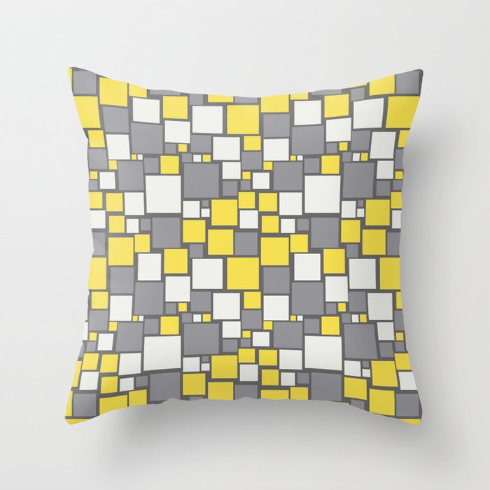 Solid Colors, Designs and Patterns on Home Decor in our Society6 Shop Pantone 2021 Color of the Year Illuminating 13-0647 and Ultimate Gray 17-5104