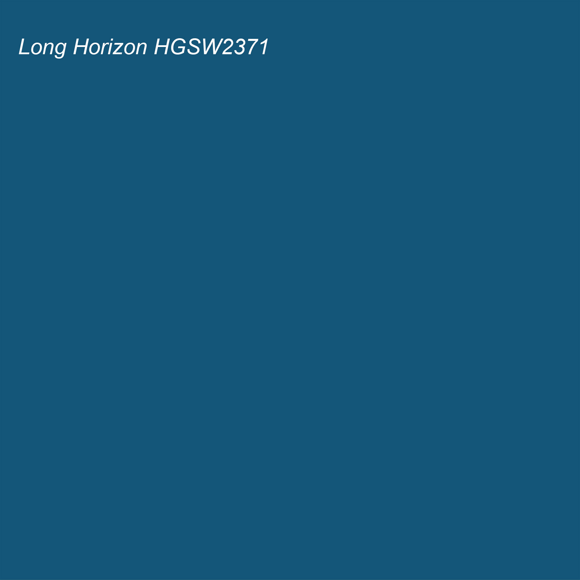 HGTV 2021 Color of the Year Suggested Accent Shade Long Horizon HGSW2371