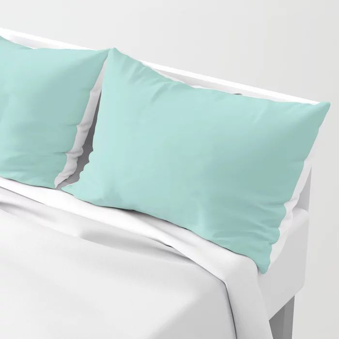Solid Color Pillow Shams Standard and King Size - Bedding - Bedroom Decor