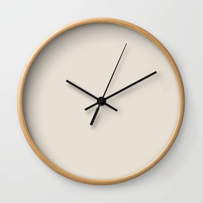 Solid Color Wall Clocks