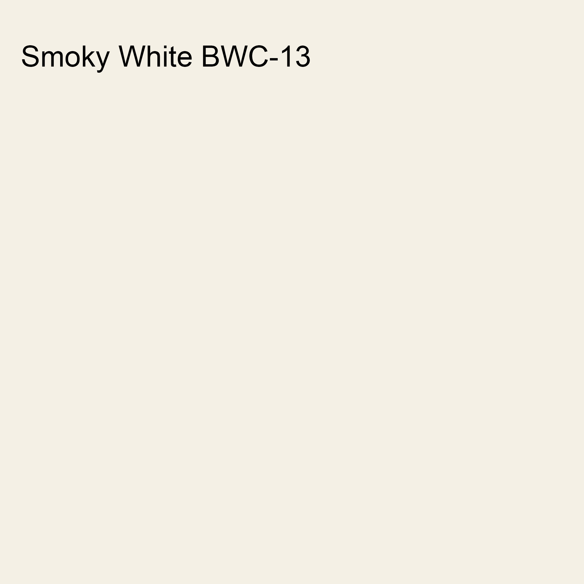 Smoky White BWC-13 Behr 2021 Trending Color