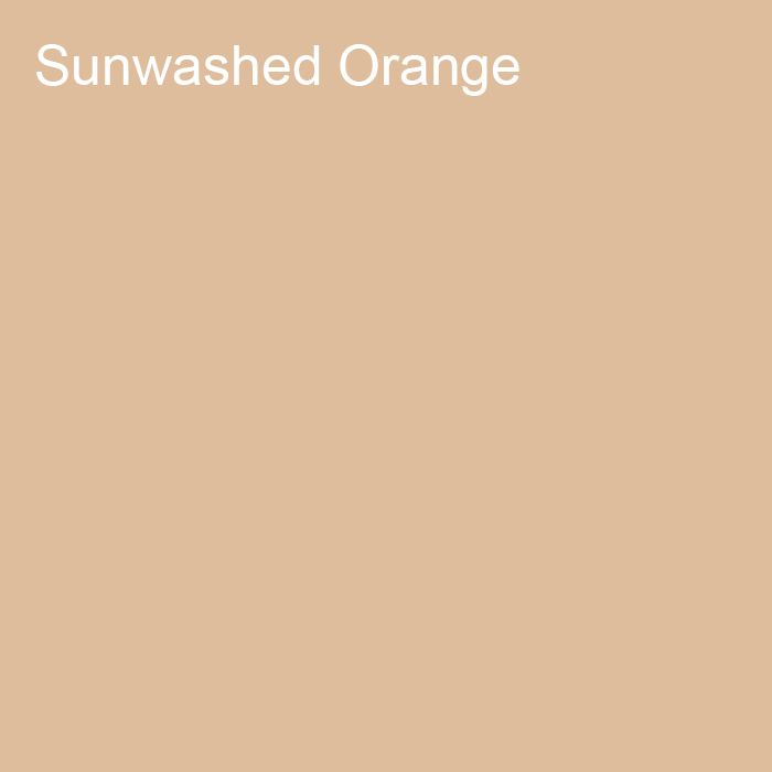 Light Peach Trending Solid Color Pairs To Dutch Boy 2021 Color of the Year Accent Shade Sunwashed Orange 312-3DB