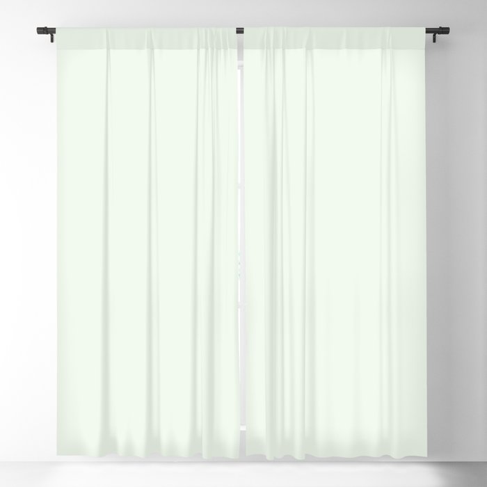 Best Seller Ultra Pale Mint Green Solid Color Pairs Behr Unwind GR-W05 Blackout Curtain
