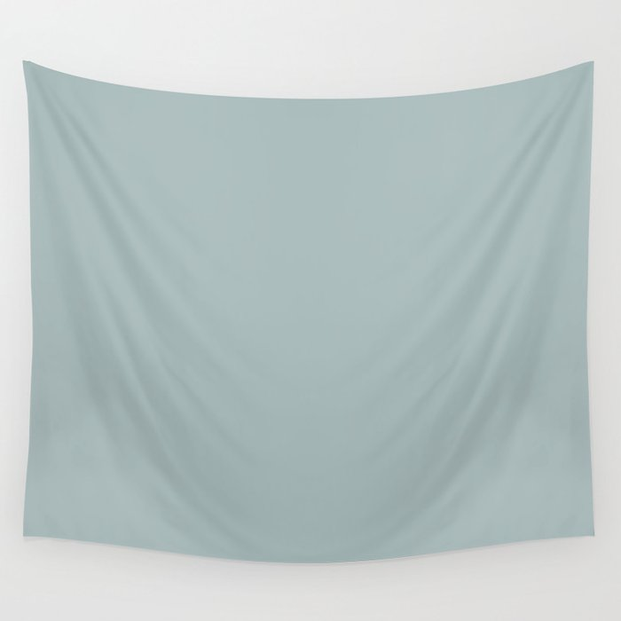 PPG Glidden Accent Color to Night Watch Blue Willow Green PPG1145-4 Solid Color Wall Tapestry