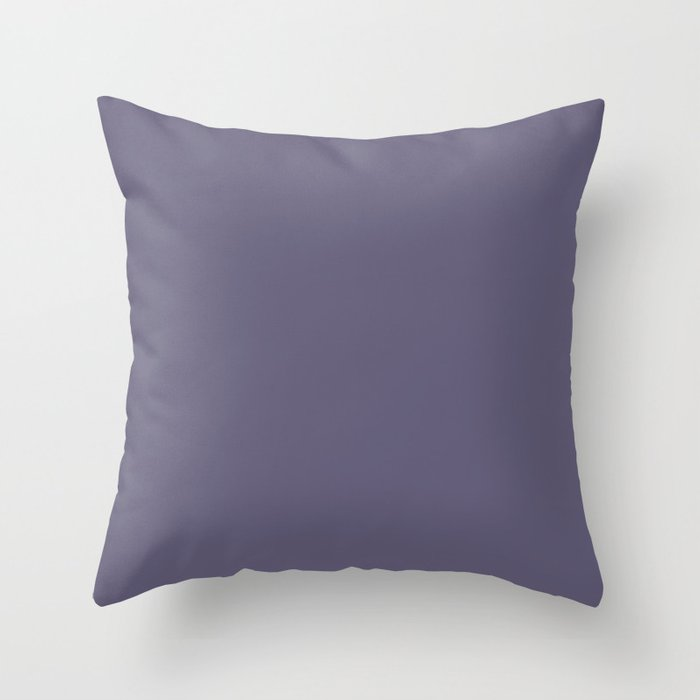 VA Mystical Purple Metropolis Lilac Dried Lilacs - Colors of the year 2019 Throw Pillow
