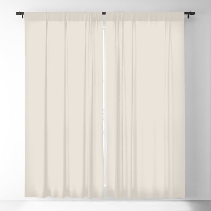 Best Seller Sherwin Williams Colors of 2019 Porcelain (Off White Cream Ivory) SW 0053 Solid Color Blackout Curtain