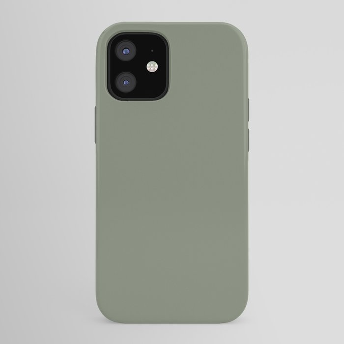 Mellow Earth Green Pairs with Magnolia Paints Olive Grove JG-09 iPhone Case