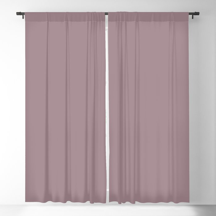 Light Purple Solid Color 2022 Spring/Summer Trending Hue Coloro Lilac Chalk 156-55-06 Blackout Curtain