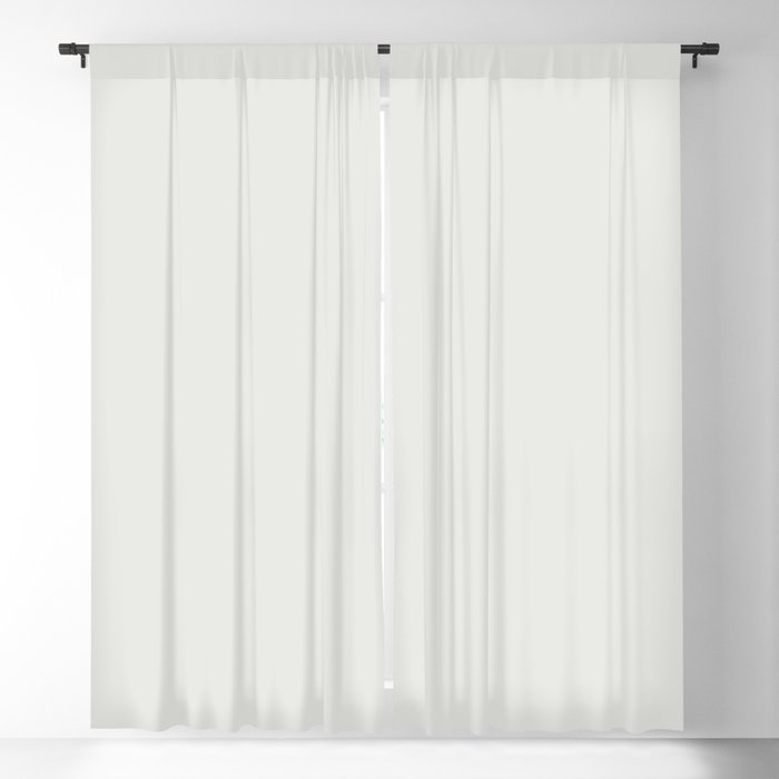 Linen White Solid Hue - 2022 Color - Shade Pairs Dunn and Edwards Swiss Meringue DEHW04 Blackout Curtain