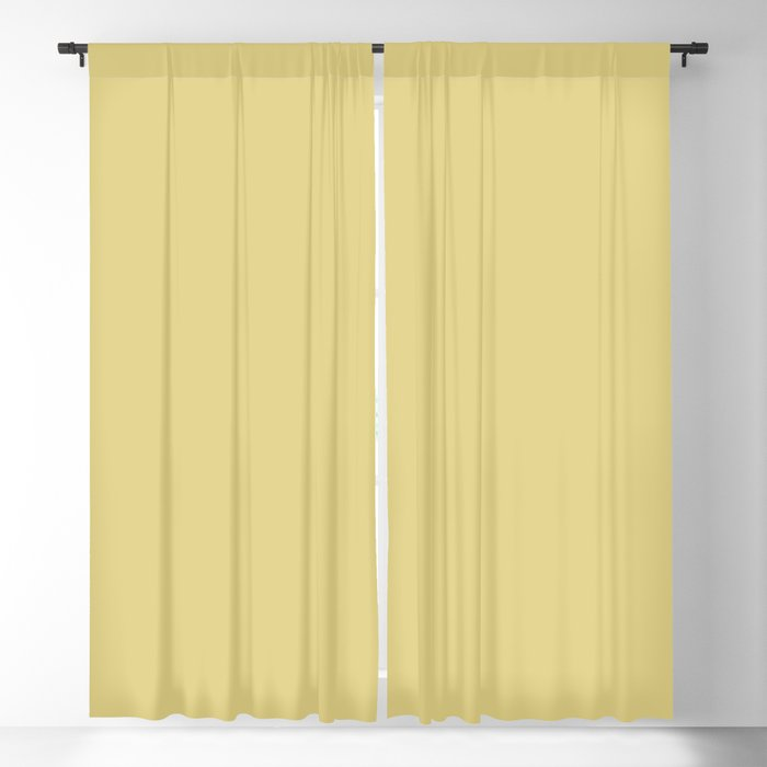 Medium Yellow Solid Color 2022 Trending Hue Sherwin Williams Chartreuse SW 0073 Blackout Curtain