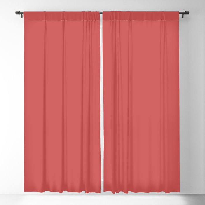Dark Pink Solid Hue - 2022 Color - Shade Dunn and Edwards Deep Hibiscus DE5083 Blackout Curtain