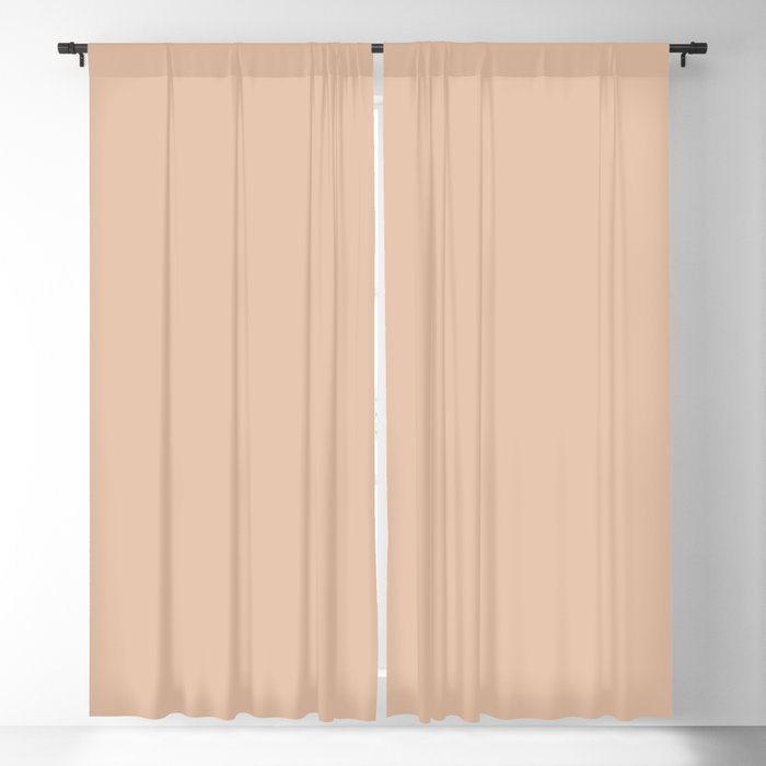 Light Pastel Pink Solid Hue - 2022 Color - Shade Dunn and Edwards Adobe South DEC709 Blackout Curtain