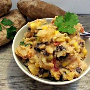 Southwestern Twice Baked Potato