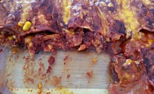 Chicken Enchiladas with Red Enchilada Sauce