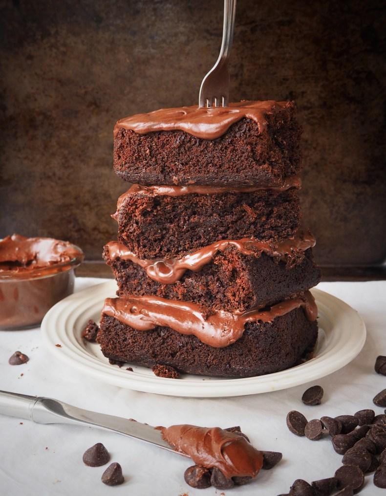 Simply Sophisticated Cooking | Deep Dark Chocolate Cake (Vegan)