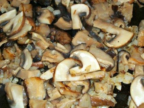 Sweating the Mushrooms