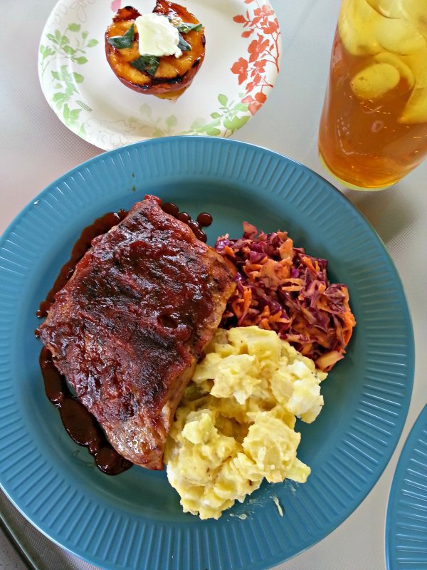 Grilled Babyback Ribs and Heidi's BBQ Sauce