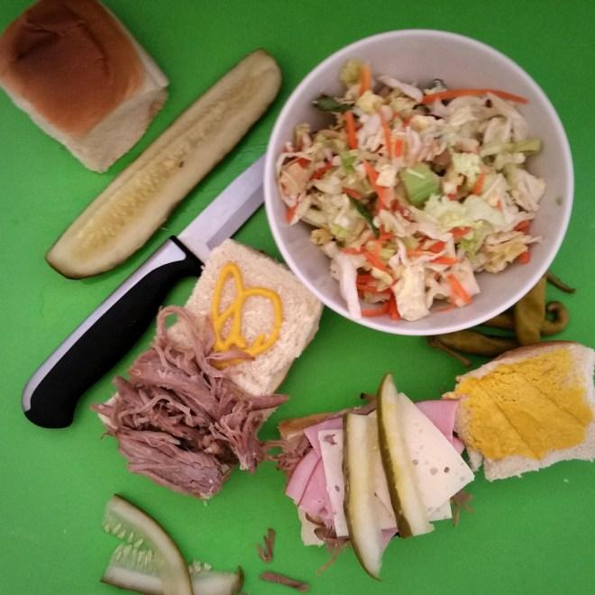 Slow Cooker Cubano Sliders
