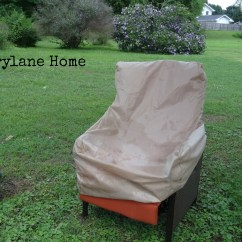 Brylanehome Chair Covers Round Patio Cushions Makeover With Brylane Home Furnishings Simply