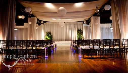 Millennium Center Wedding Ceremony Simply Southern