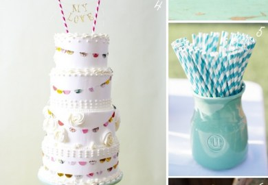 Mint Yellow And Blue Wedding Color Schemes