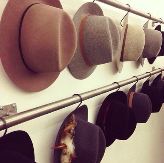 S-Hooks for Hats // 14 ways to Organize with S-Hooks // simplyspaced.com