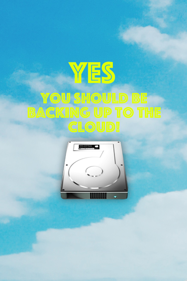 Why You Should Be Backing Up Your Computer // Should I Back Up To The Cloud? // simplyspaced.com