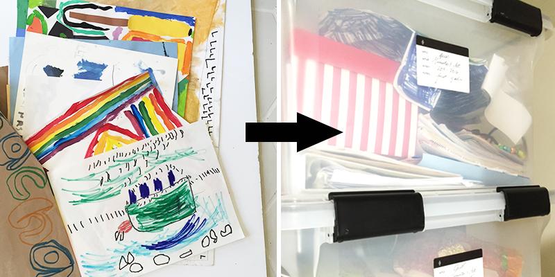Kids Memento Box Labels // Free Printable Downloads