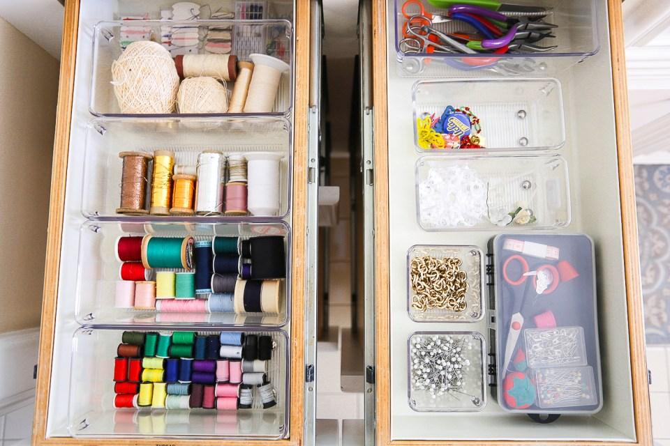 Craft & Art Supply Organizing