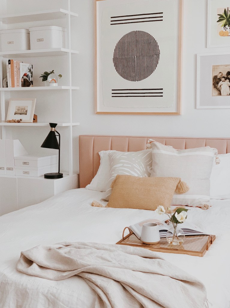 Guest room refresh must haves by Serena & Lily and Simply Spaced