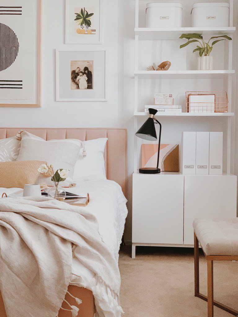 Curate your guest bedroom in style with tips from Simply Spaced