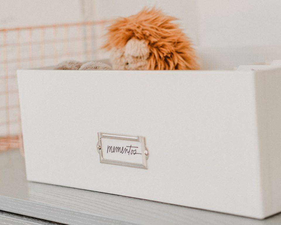 Memento storage boxes