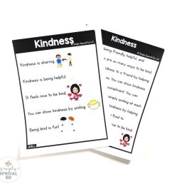 Kindness Story - Simply Special Ed [ 1024 x 1024 Pixel ]