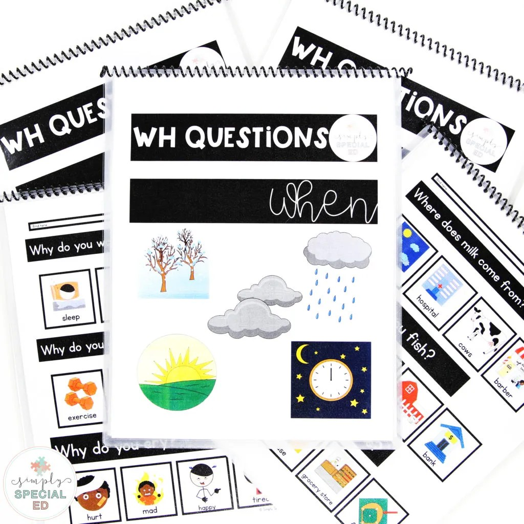 hight resolution of 3 Ways to Target WH Questions - Simply Special Ed