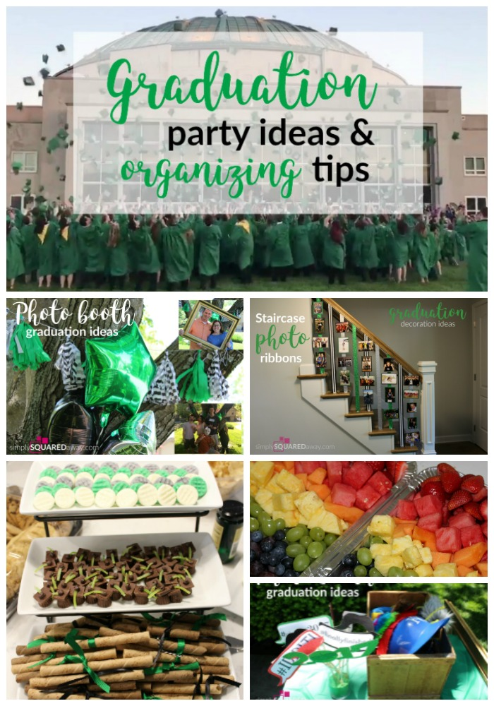 graduation party ideas and