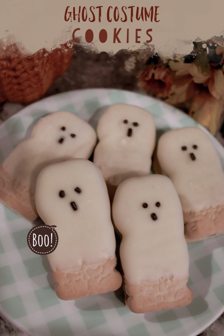Ghost Costume Cookies
