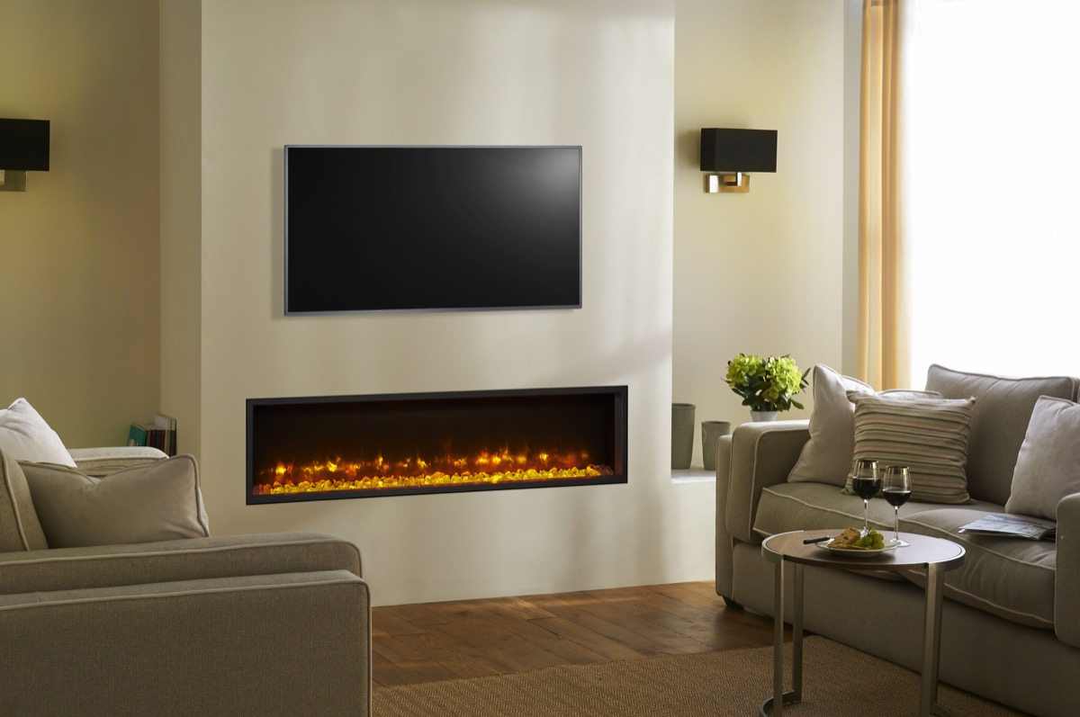 Gazco Radiance 135R Edge Inset Electric Fire  Simply Stoves