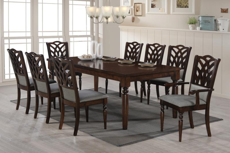 9 piece antique oak dining room suite – Simply Style
