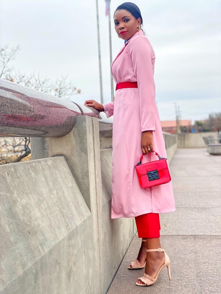 Pink Kimono For Valentine's Day