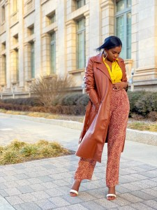 Styling trench coat for Spring