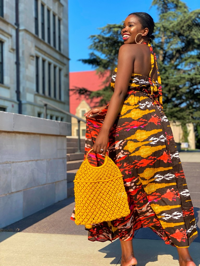 how to style print dresses for summer