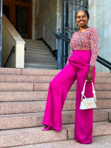 how to style floral tops for Summer