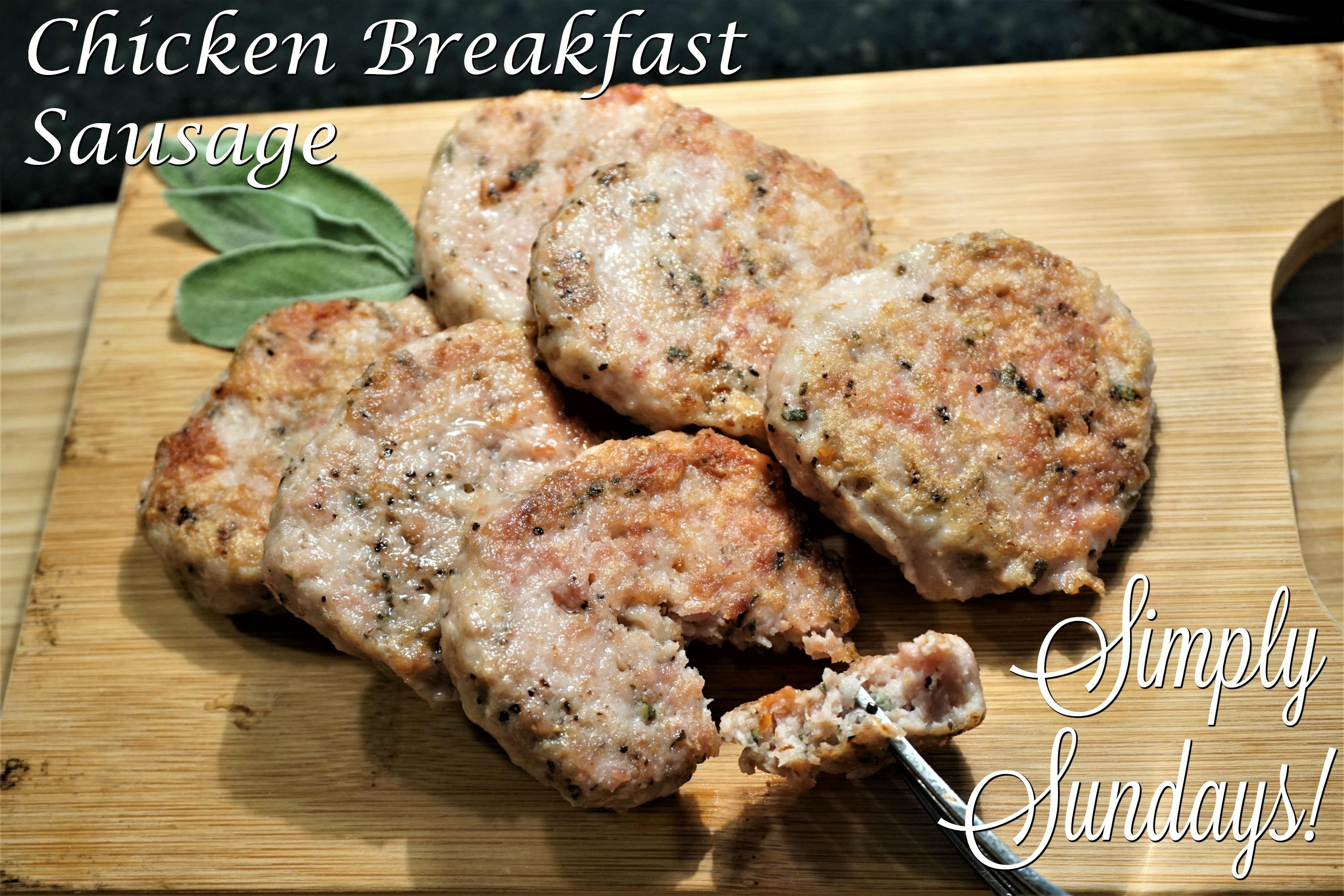 Simply Sundays Chicken Breakfast Sausage