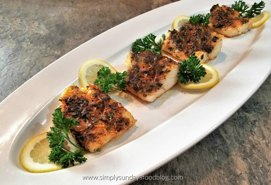 Broiled Cod FB