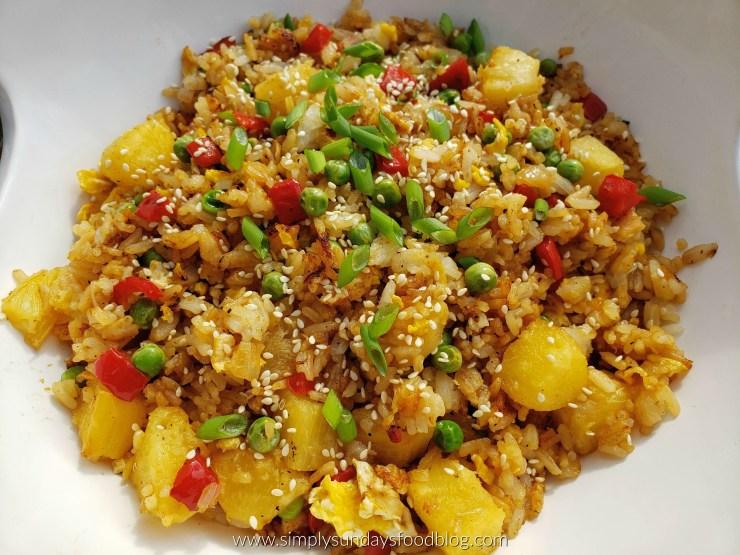 Pineapple Fried Rice FB